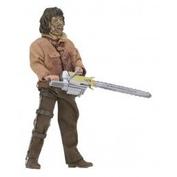 THE TEXAS CHAINSAW MASSACRE 3 - LEATHERFACE RETRO ACTION FIGURE NECA