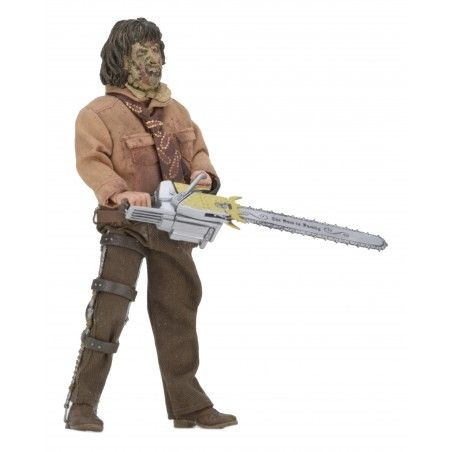 THE TEXAS CHAINSAW MASSACRE 3 - LEATHERFACE RETRO ACTION FIGURE