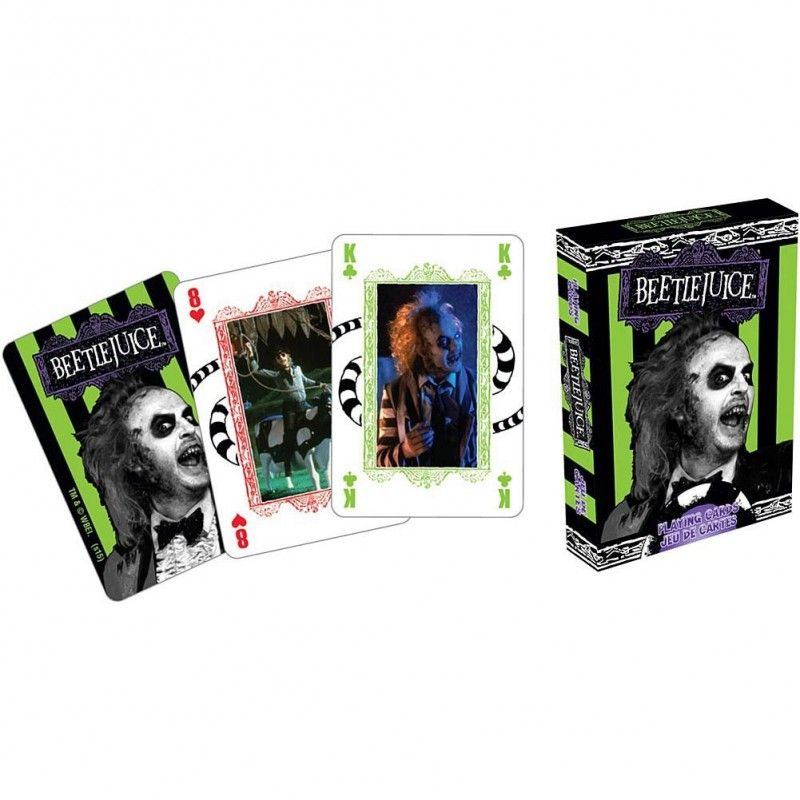 BEETLEJUICE PLAYING CARDS MAZZO CARTE DA GIOCO