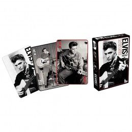 ELVIS PRESLEY BLACK AND WHITE PLAYING CARDS MAZZO CARTE DA GIOCO