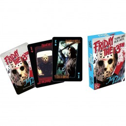 FRIDAY THE 13TH PLAYING CARDS MAZZO CARTE DA GIOCO