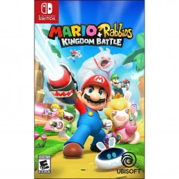 MARIO + RABBIDS KINGDOM BATTLE SWITCH NUOVO