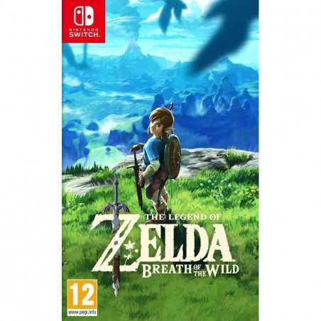 LEGEND OF ZELDA BREATH OF THE WILD SWITCH NUOVO