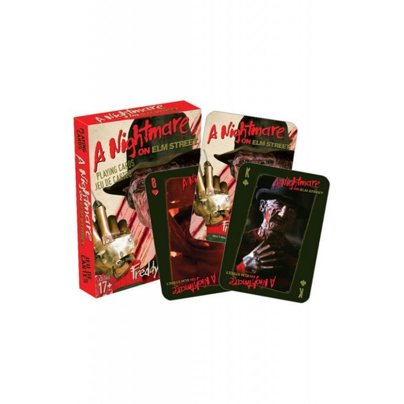 A NIGHTMARE ON ELM STREET PLAYING CARDS MAZZO CARTE DA GIOCO