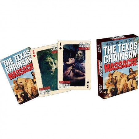 THE TEXAS CHAINSAW MASSACRE PLAYING CARDS MAZZO CARTE DA GIOCO