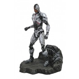 JUSTICE LEAGUE MOVIE GALLERY - CYBORG 23CM STATUE FIGURE