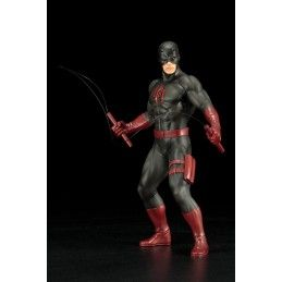 MARVEL DEFENDERS DAREDEVIL BLACK SUIT ARTFX+ STATUE FIGURE