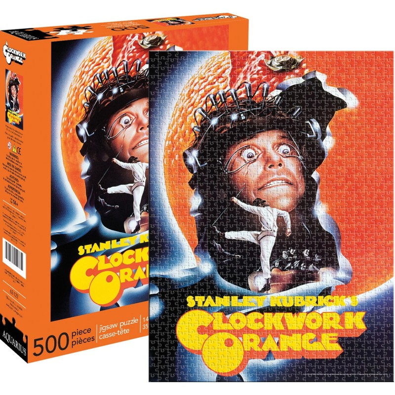 A CLOCKWORK ORANGE 500 PIECES PEZZI JIGSAW PUZZLE
