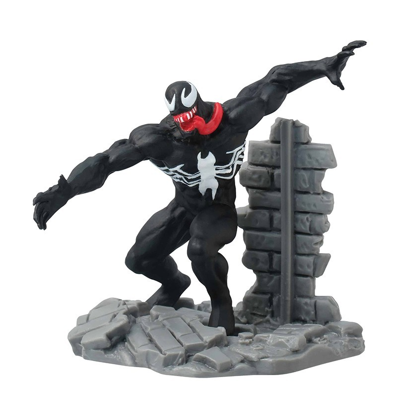 MARVEL VENOM STATUE MINI FIGURE DIORAMA