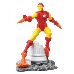 MARVEL IRON MAN STATUE MINI FIGURE DIORAMA