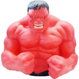 MARVEL AVENGERS VENDICATORI RED HULK BUST BANK SALVADANAIO ACTION FIGURE MONOGRAM