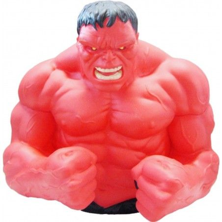 MARVEL AVENGERS VENDICATORI RED HULK BUST BANK SALVADANAIO ACTION FIGURE