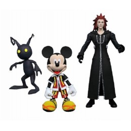 DIAMOND SELECT KINGDOM HEARTS - MICKEY AXEL AND SHADOW ACTION FIGURE