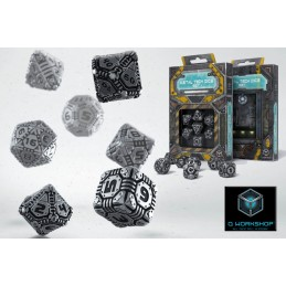 TECH METAL DICE SET 7 DADI IN METALLO