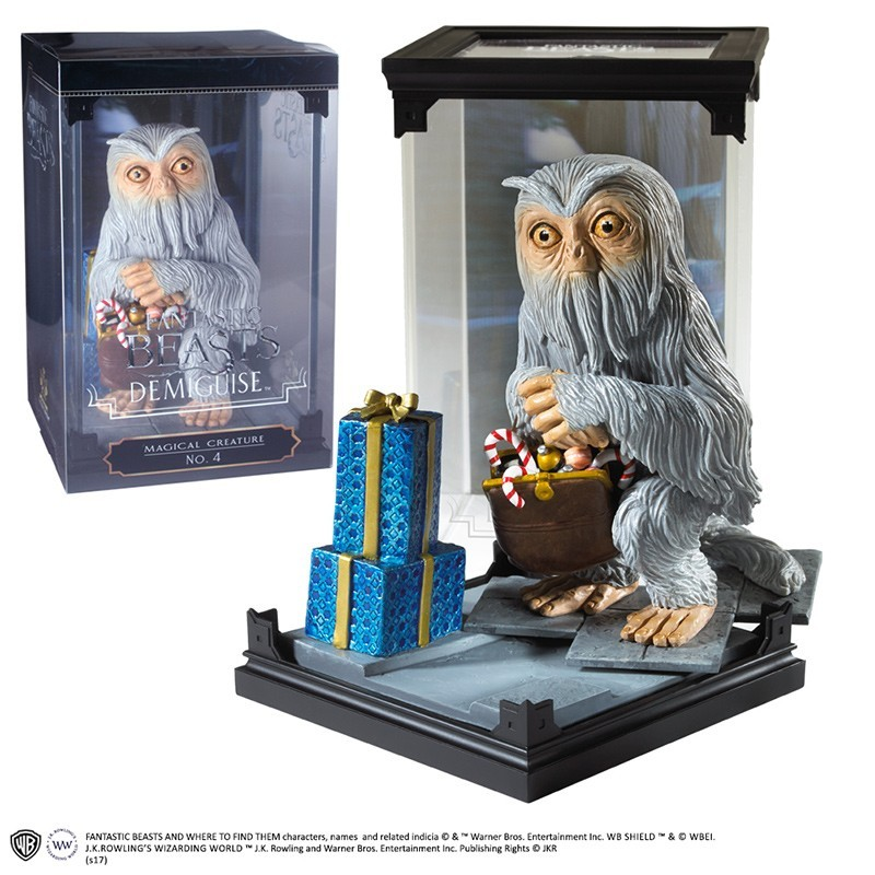 FANTASTIC BEAST MAGICAL CREATURES - DEMIGUISE STATUA FIGURE NOBLE COLLECTIONS