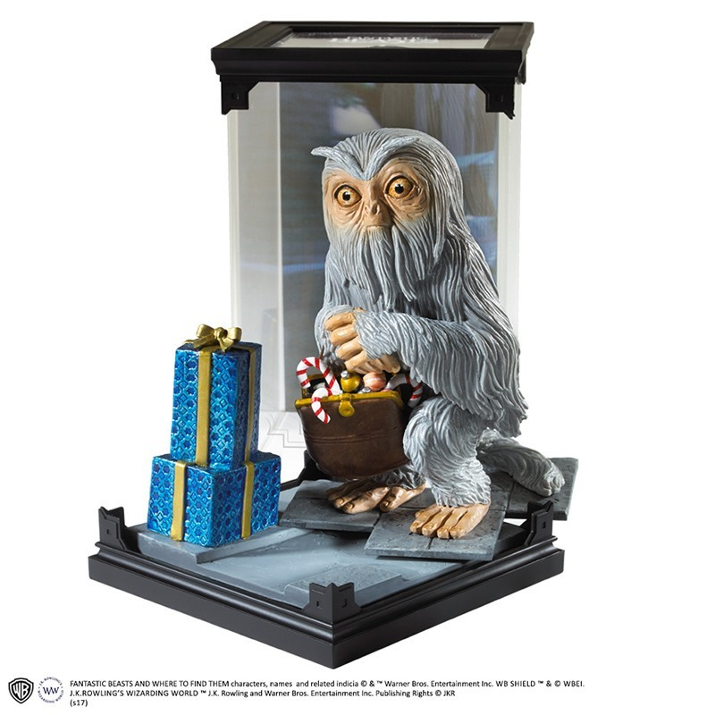 NOBLE COLLECTIONS FANTASTIC BEAST MAGICAL CREATURES - DEMIGUISE STATUA FIGURE