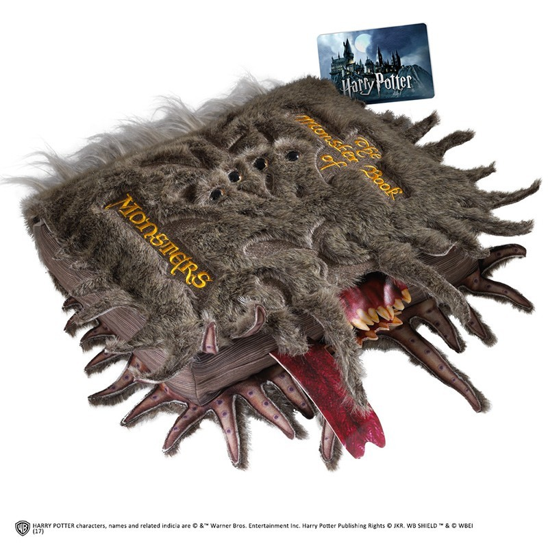 FANTASTIC BEAST - MONSTER BOOK OF MONSTERS PELUCHE PLUSH 35 CM NOBLE COLLECTIONS