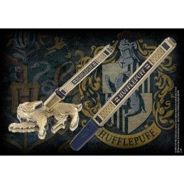 HARRY POTTER - HUFFLEPUFF METAL PEN DESK STAND PENNA CON BASE