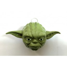 STAR WARS YODA HEAD 3D XMAS BALL PALLA ALBERO NATALE