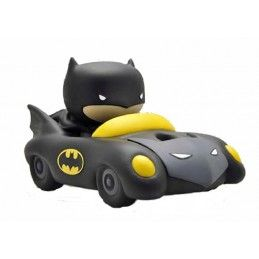 BATMAN BATMOBILE CHIBI BANK SALVADANAIO FIGURE PLASTOY