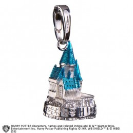 HARRY POTTER - HOGWARTS CASTLE SILVER CIONDOLO IN METALLO NOBLE COLLECTIONS