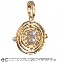 HARRY POTTER - TIME TURNER CIONDOLO IN METALLO NOBLE COLLECTION