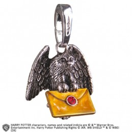 NOBLE COLLECTIONS HARRY POTTER - GUFO OWL POST CIONDOLO IN METALLO