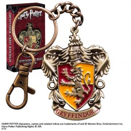 NOBLE COLLECTIONS HARRY POTTER GRYFFINDOR CREST METAL KEYCHAIN PORTACHIAVI IN METALLO