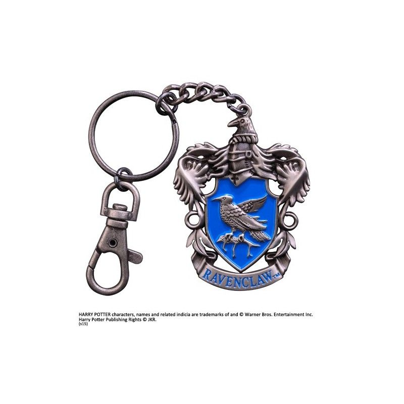 HARRY POTTER RAVENCLAW CREST METAL KEYCHAIN PORTACHIAVI IN METALLO NOBLE COLLECTIONS