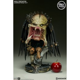 WOLF PREDATOR LEGENDARY SCALE BUST EXCLUSIVE EDITION STATUE SIDESHOW COLLECTIBLES
