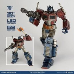 TRANSFORMERS GENERATION ONE OPTIMUS PRIME 40 CM ACTION FIGURE THREE A TOYS