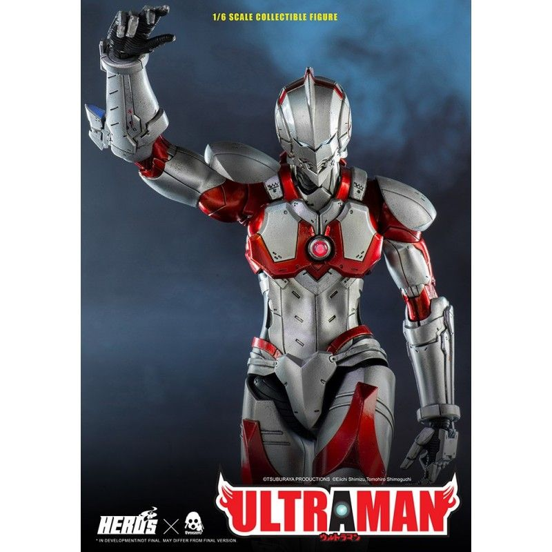 ULTRAMAN SUIT 1/6 SCALE 30 CM ACTION FIGURE THREEZERO