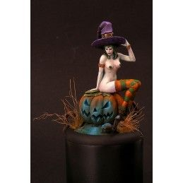 KABUKI HALLOWEEN GIRL RESIN FIGURE MINI STATUE MODEL KIT
