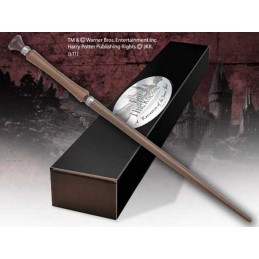 HARRY POTTER WAND PIUS THICKNESSES REPLICA BACCHETTA NOBLE COLLECTIONS