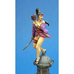 SHINOMI RESIN FIGURE MINI STATUE MODEL KIT KABUKI