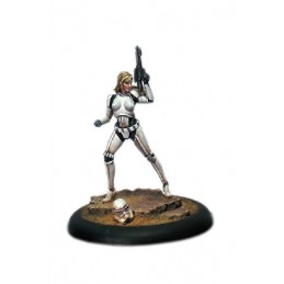STAR WARS VIXEN RESIN FIGURE MINI STATUE MODEL KIT KABUKI