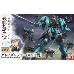 HIGH GRADE HG GRAZE RITTER CARTA CUSTOM 1/144 MODEL KIT ACTION FIGURE