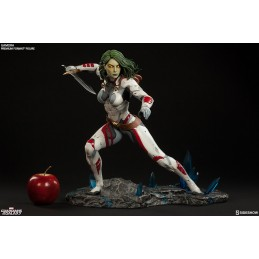GUARDIANS OF THE GALAXY GAMORA PREMIUM FORMAT STATUE 38 CM FIGURE SIDESHOW