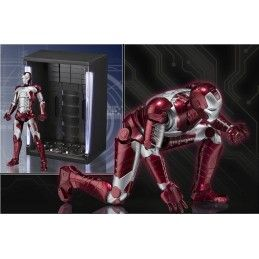 BANDAI IRON MAN MARK 5 V + HALL OF ARMOR SET FIGUARTS ACTION FIGURE