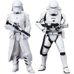 STAR WARS FIRST ORDER SNOWTROOPER AND FLAMETROOPER ARTFX STATUE KOTOBUKIYA