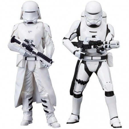 STAR WARS FIRST ORDER SNOWTROOPER AND FLAMETROOPER ARTFX STATUE