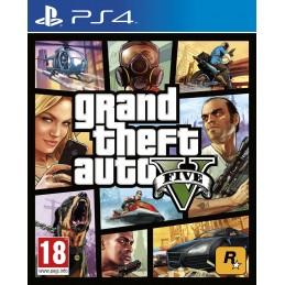 GTA GRAND THEFT AUTO 5 PS4 NUOVO ITALIANO