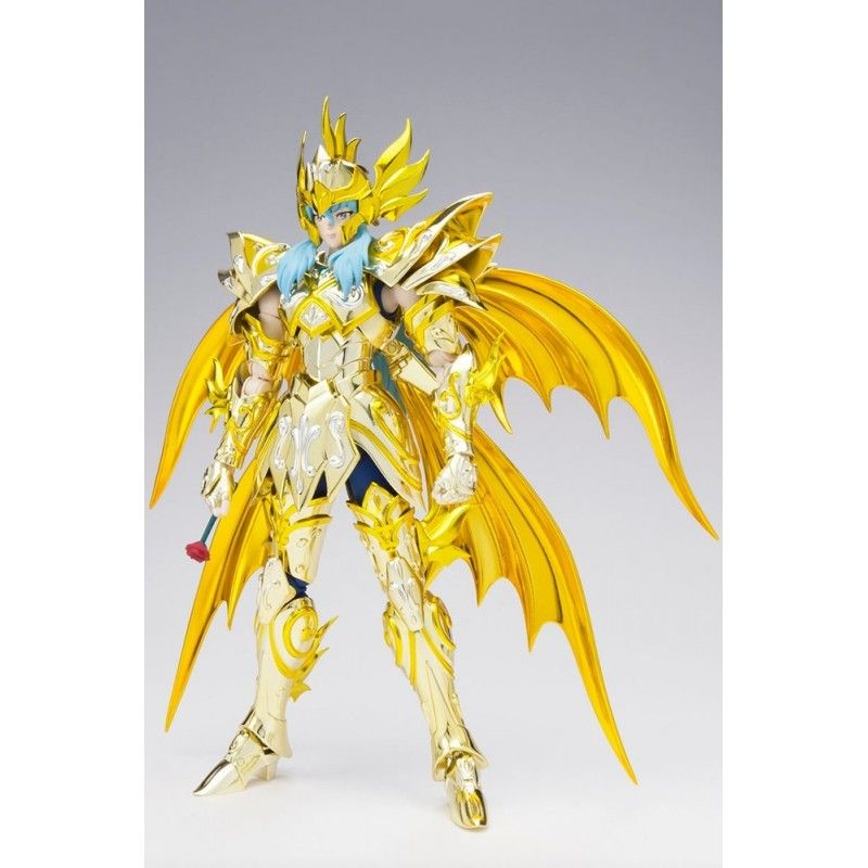 BANDAI SAINT SEIYA MYTH CLOTH EX SOUL OF GOLD APHRODITE PISCES PESCI GOLD CLOTH ACTION FIGURE