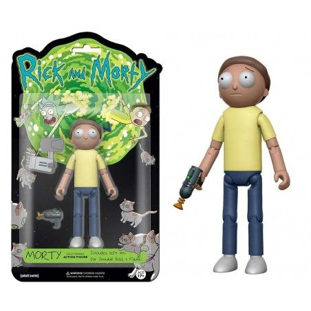 RICK AND MORTY - MORTY 13 CM ACTION FIGURE