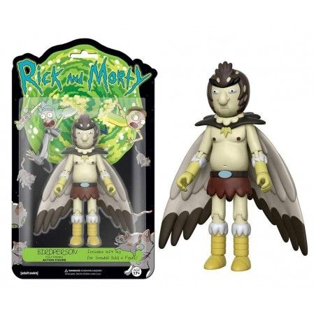 RICK AND MORTY - BIRDPERSON PERSUCCELLO 13 CM ACTION FIGURE