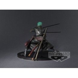 ONE PIECE - RORONOA ZORO SHINING COLOR VER SCULTURES STATUE