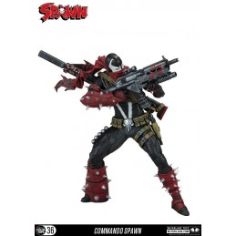SPAWN - COMMANDO SPAWN COLOR TOPS ACTION FIGURE