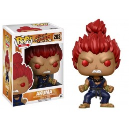 FUNKO POP! STREET FIGHTER - AKUMA BOBBLE HEAD KNOCKER FIGURE