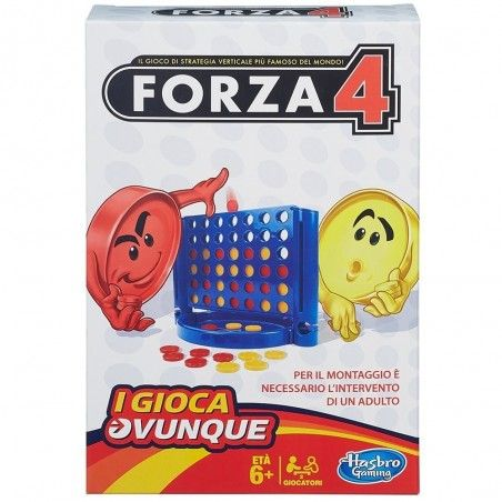 TRAVEL FORZA 4 GIOCO DA TAVOLO ITALIANO