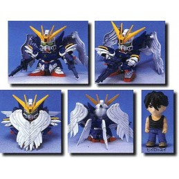 LEGEND BB GUNDAM W ZERO CUSTOM 10 CM MODEL KIT ACTION FIGURE BANDAI